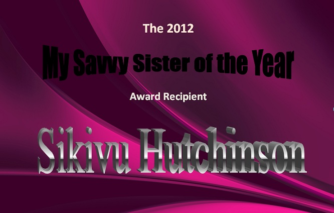My Savvy Sister Of The Year 2012