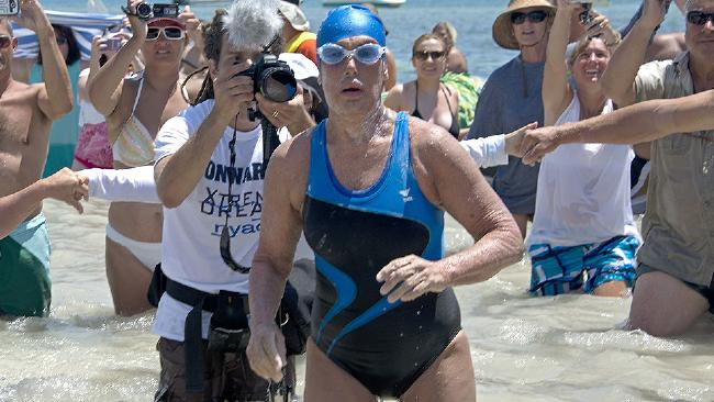 64 Year old swimmer