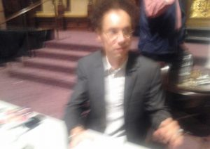 Malcolm Gladwell at LA Live Talks on October 7, 2013