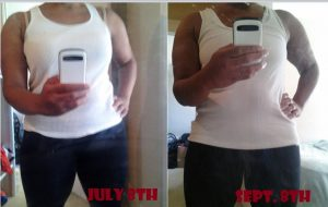 2 Months Work Out Results Te-Erika