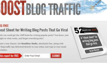 Boost Blog Traffic